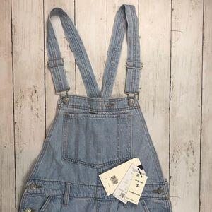 Levi's Premium Denim women's overalls Small 201-M